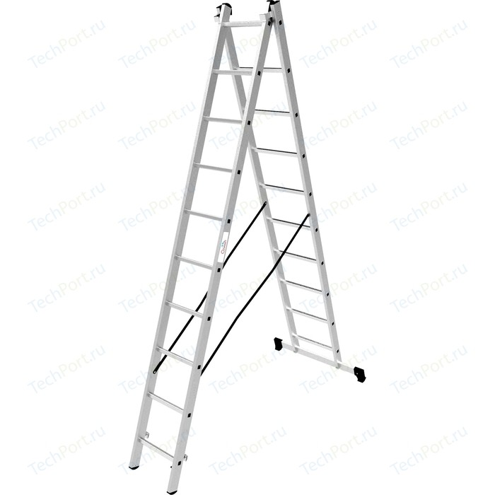 Лестница двухсекционная Олимп 2x10м (1220210A)