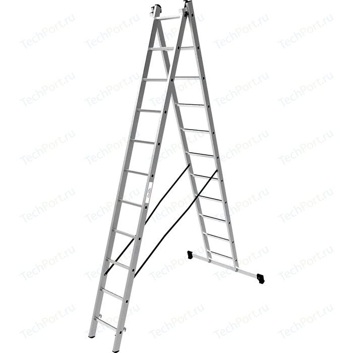 Лестница двухсекционная Олимп 2x11м (1220211A)