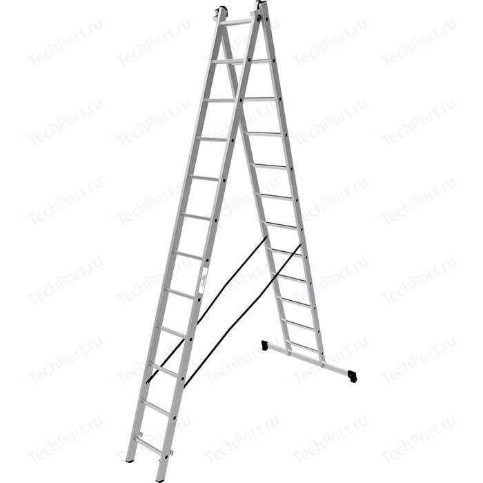 Лестница двухсекционная Олимп 2x12м (1220212A)