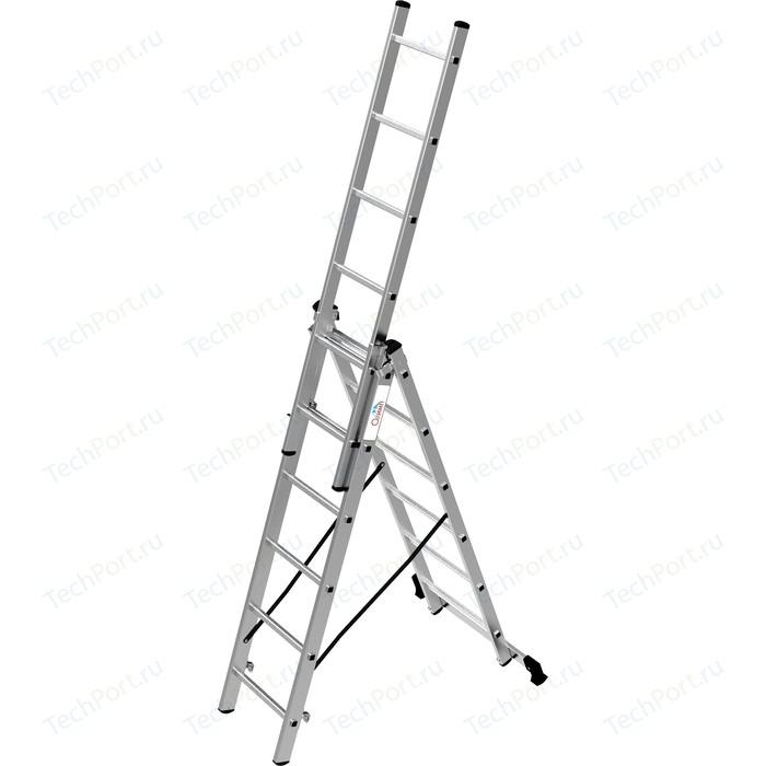 Лестница трехсекционная Олимп 3x6м (1230306A)