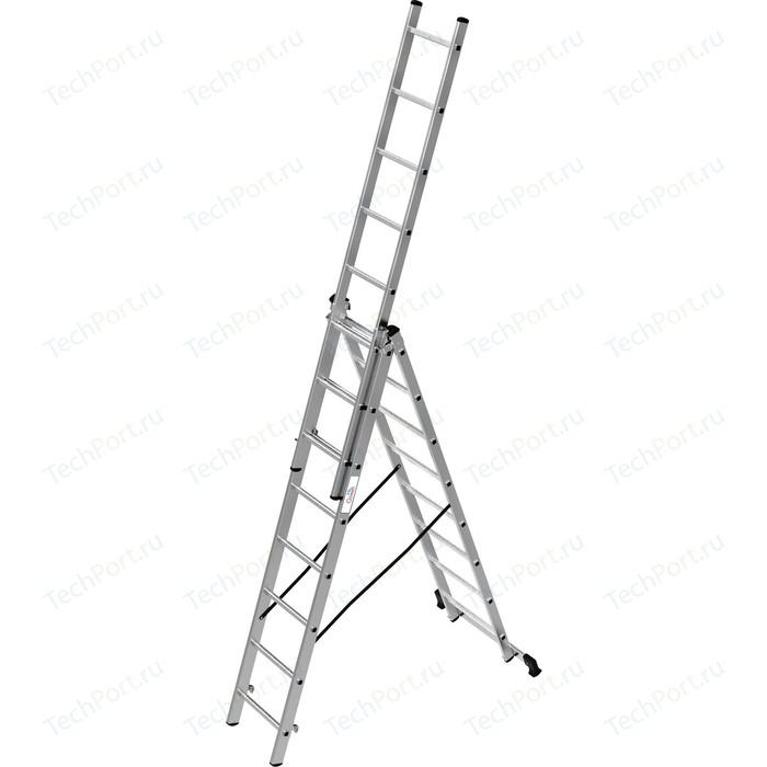 Лестница трехсекционная Олимп 3x8м (1230308A)