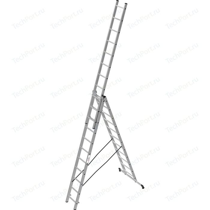 Лестница трехсекционная Олимп 3x11м (1230311A)
