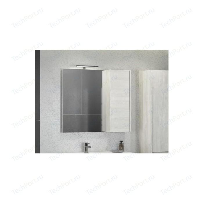 Зеркало-шкаф Comforty Бремен 90 дуб белый (00004142374)