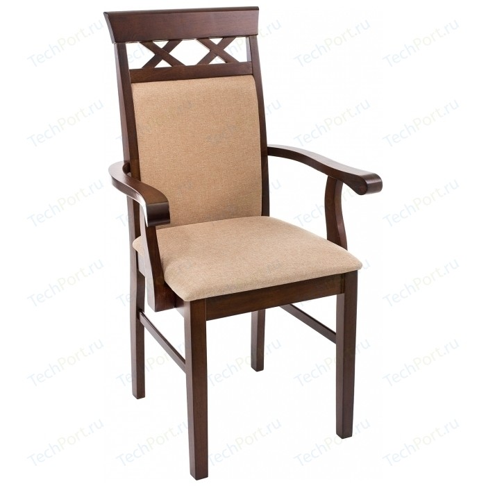 Кресло Woodville Mango бежевое брюки mango man mango man he002emchnx7