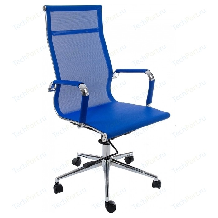 Компьютерное кресло Woodville Reus темно-синее