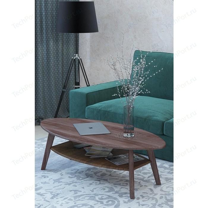 Столы журнальные Калифорния мебель Серфинг Грецкий орех Акация