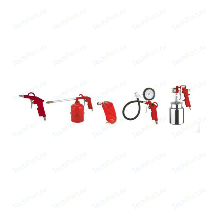 Набор пневмоинструмента Elitech 5 предметов (0704.012100)