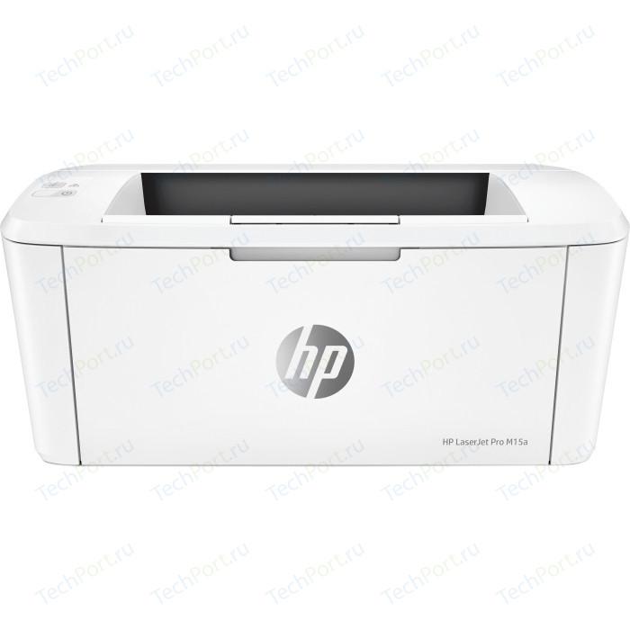 Фото - Принтер HP LaserJet Pro M15a (W2G50A) принтер hp laserjet pro m203dw g3q47a