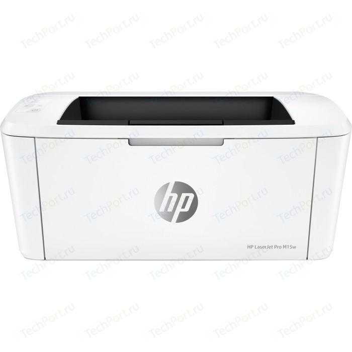 Фото - Принтер HP LaserJet Pro M15w (W2G51A) принтер hp laserjet pro m203dw g3q47a
