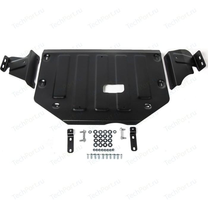 Защита картера и КПП АвтоБРОНЯ для Ford Tourneo Custom FWD (2013-н.в.) / Transit (2014-н.в.), сталь 2 мм, 111.01867.1