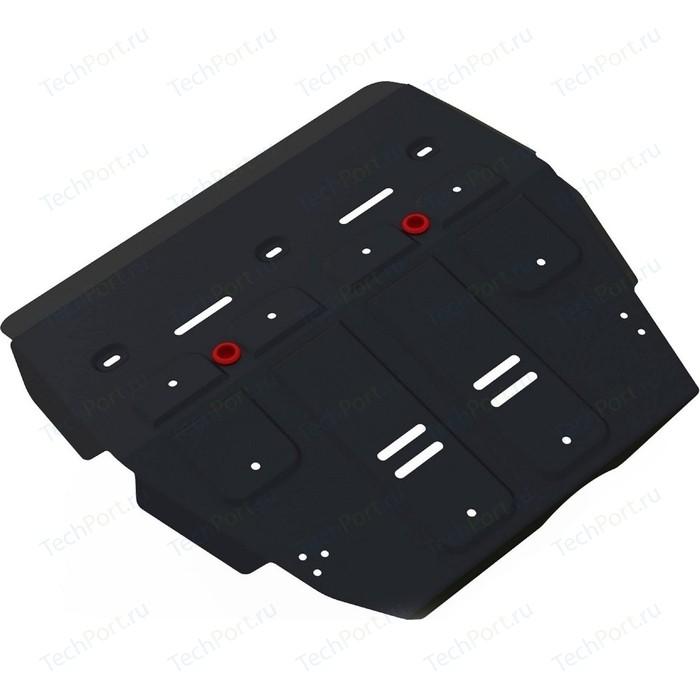 Защита картера и КПП АвтоБРОНЯ для Haval H2 МКПП 4WD (2014-н.в.), сталь 2 мм, 111.09401.1