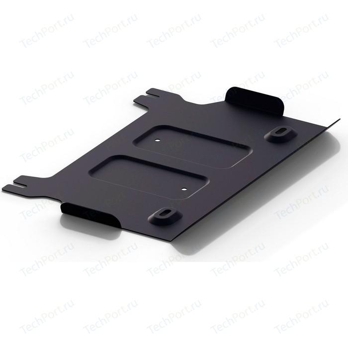 Защита РК АвтоБРОНЯ для Haval H9 (2015-н.в.), сталь 2 мм, штатный крепеж, 1.09410.1