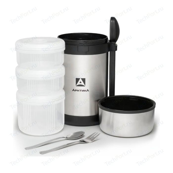 Термос для еды 1.5 л Арктика с 3-мя контейнерами 403-1500