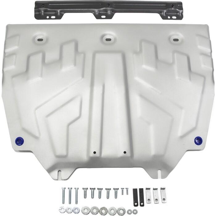 Защита картера и КПП Big Rival для Mazda 3 / 6 (2012-н.в.) CX-5 (2011-н.в.) CX-9 (2017-н.в.), алюминий 4 мм, 333.3817.1