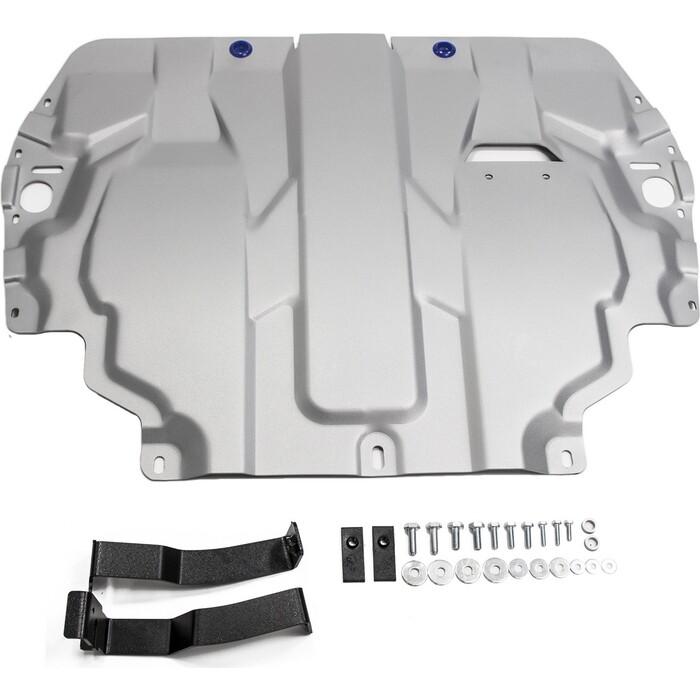 Защита картера и КПП Rival для Seat Altea (2004-2014) / Cordoba (2003-2009) Leon (2005-2013), алюминий 4 мм, 333.5107.1