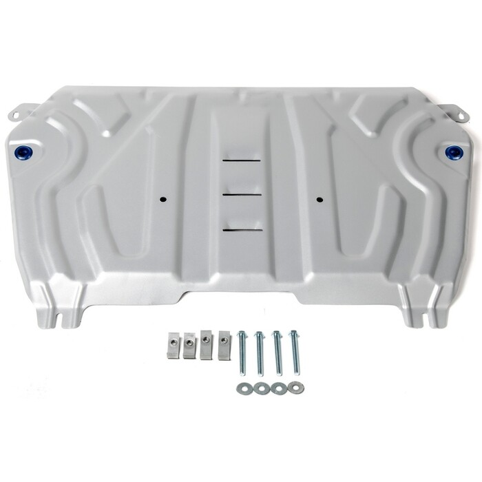 Защита картера и КПП Big Rival для Lexus ES XV70 (2018-н.в.) / Toyota Camry (2018-н.в.), алюминий 4 мм, 333.9518.2