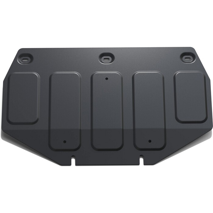 Защита картера ч.1 Rival для Genesis G80 4WD (2017-н.в.) / G90 (2016-н.в.) Hyundai II (2014-2017), сталь 2 мм, с крепежом, 111.2353.1