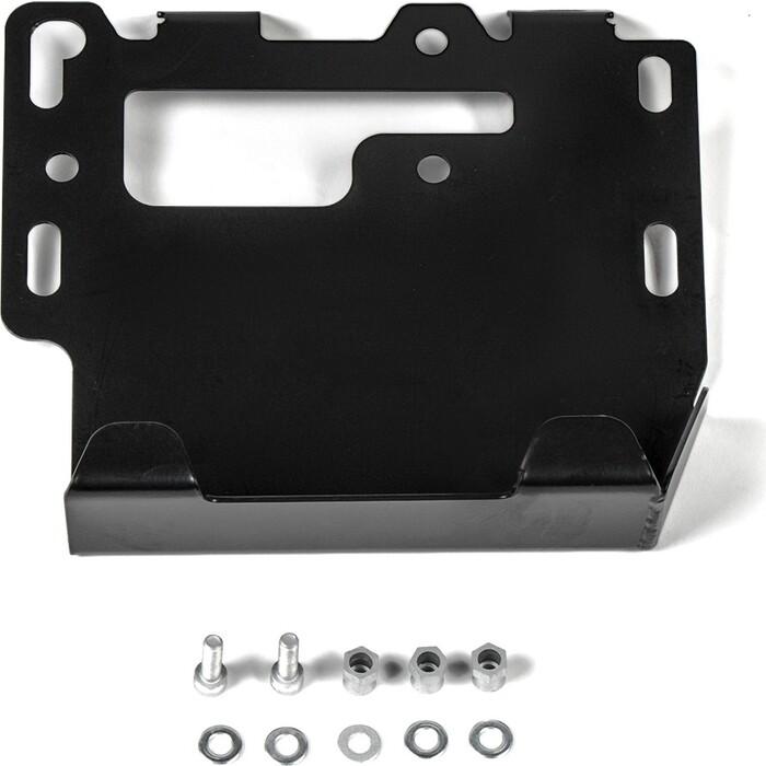 Защита электронного блока управления Rival для Hyundai Solaris II (2017-н.в.) / Kia Rio IV седан, хэтчбек X-Line (2017-н.в.), сталь 2 мм, с крепежом, 111.2843.1