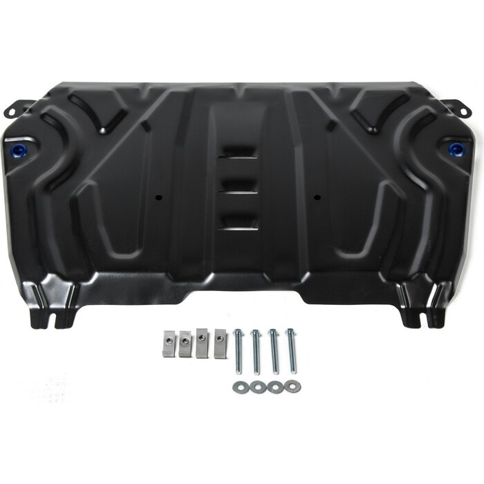 Защита картера и КПП Big Rival для Lexus ES VII (2018-н.в.) / Toyota Camry XV70 (2018-н.в.), сталь 2 мм, с крепежом, 111.9518.2