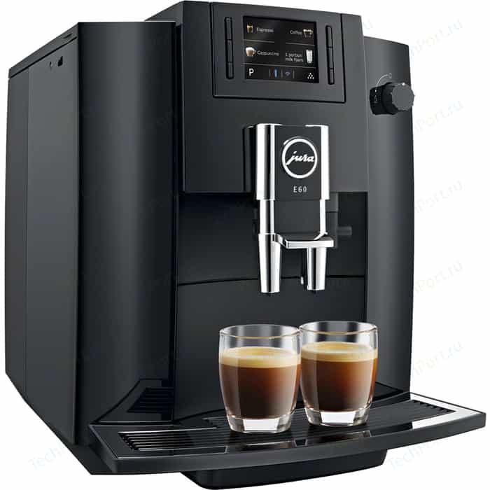 Кофемашина автоматическая Jura E 60 Pianoblack (15082) кофемашина jura e6 platin 15058