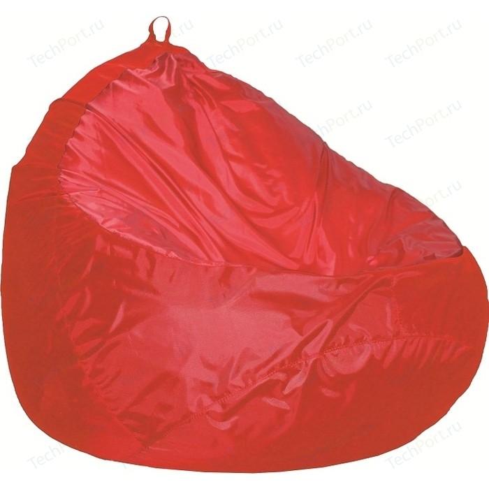 Пуф Комфорт - S Груша-2 оксфорд красный