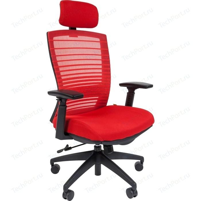 Офисноекресло Chairman СН 285 красный