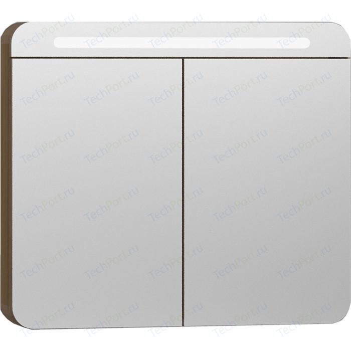 Зеркальный шкаф Vitra Nest Trendy 80 с подсветкой (56175)