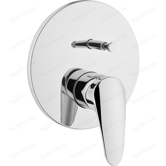 Смеситель для ванны Vitra Dinamic S накладная панель, механизма A41949EXP (A42211EXP)
