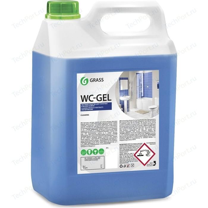 Средство GRASS для чистки сантехники WC-gel (канистра), 5 л средство для чистки стекла help свежий озон 5 л