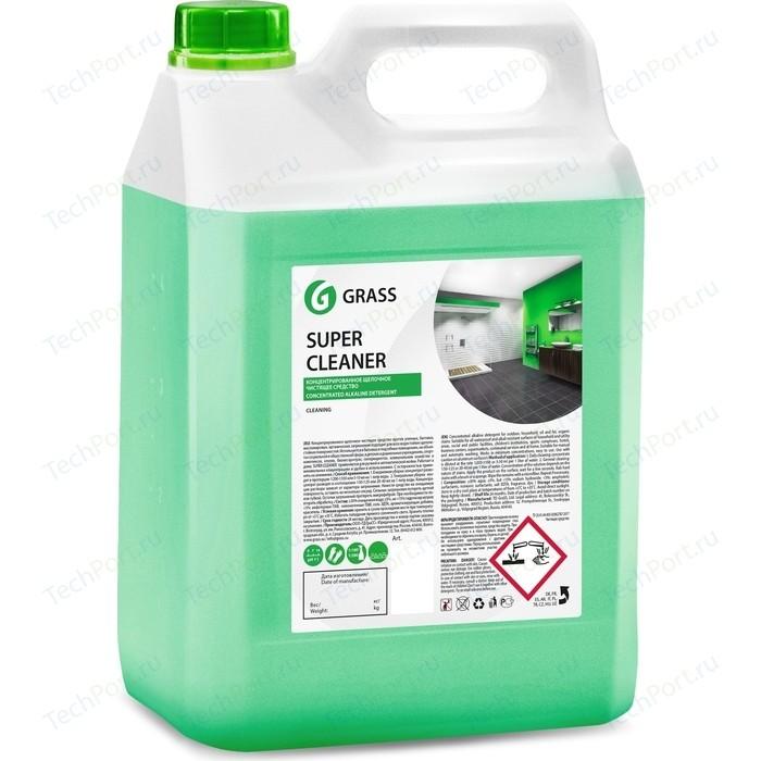 Концентрированое щелочное моющее средство GRASS Super Cleaner, 5 л