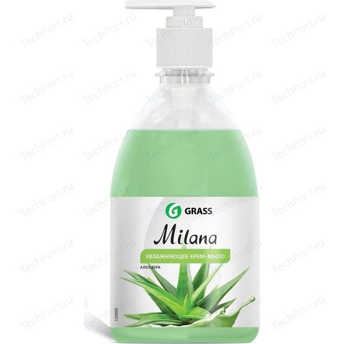 Жидкое крем-мыло GRASS Milana алоэ вера, 500мл