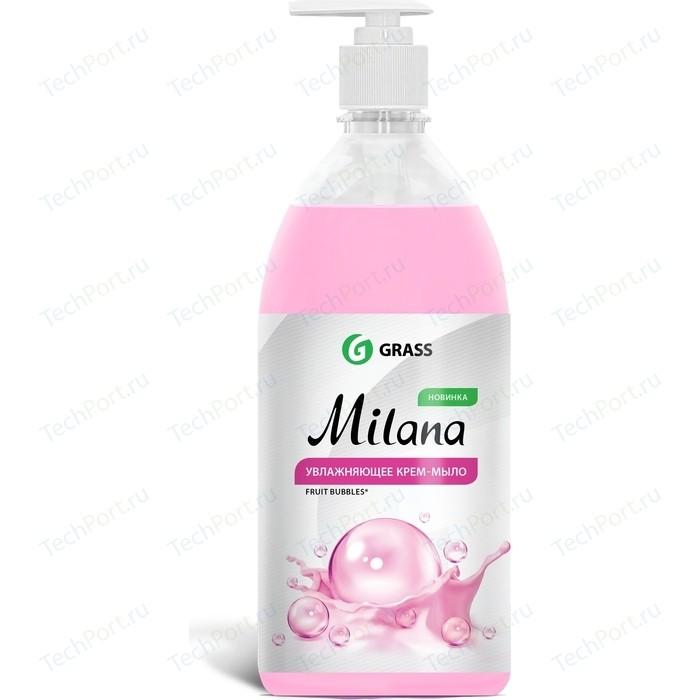 Жидкое крем-мыло GRASS Milana fruit bubbles, 1л