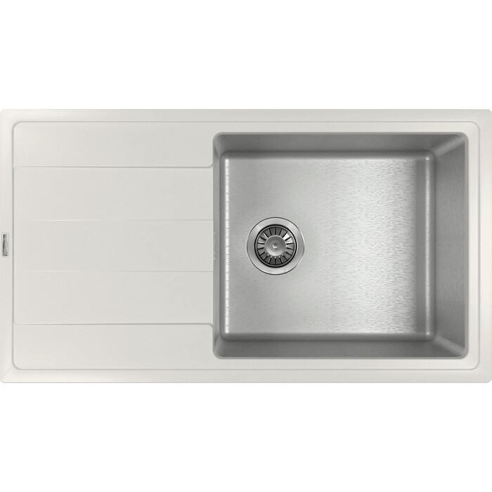 Кухонная мойка Florentina Комби 860 жасмин Fs (21.400.D0860.201)