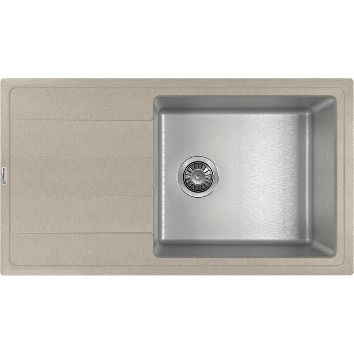 Кухонная мойка Florentina Комби 860 песочный Fg (21.400.D0860.107)