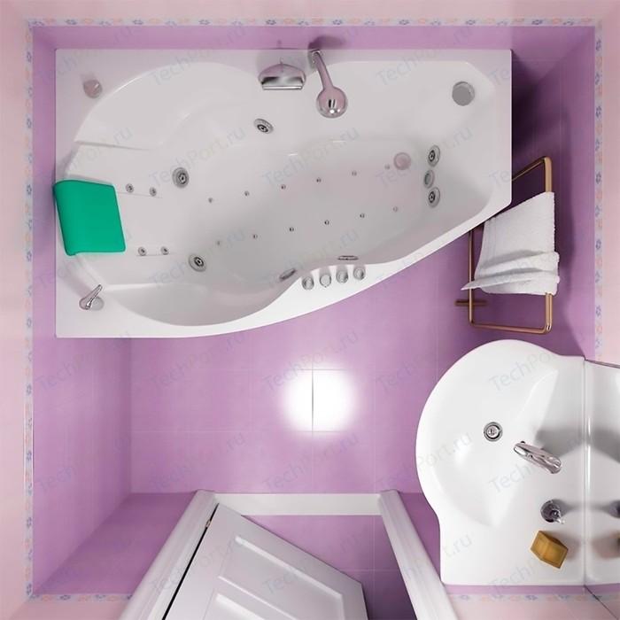 Акриловая ванна Triton Бриз R 150x95 правая, с панелью (Н0000000179, Н0000099918)