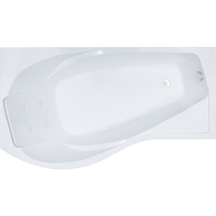 Акриловая ванна Triton Мишель R 170х95 правая (Н0000000204)
