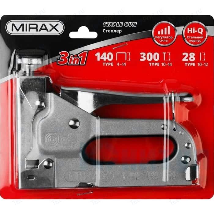 Степлер ручной MIRAX 3-в-1 тип 140 (3146)