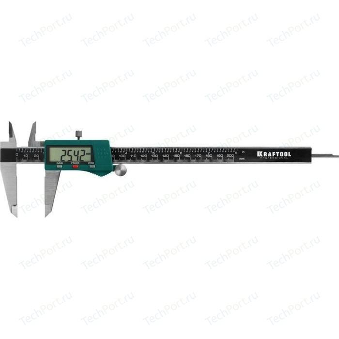 Штангенциркуль цифровой Kraftool электронный 200 мм 0,01 (34460-200)