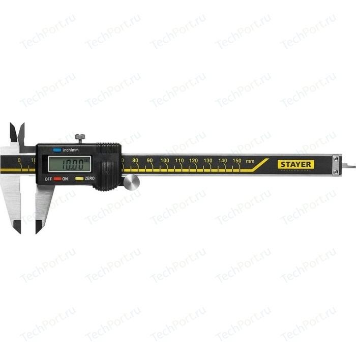 Штангенциркуль цифровой Stayer Professional электронный 150 мм (34410-150)