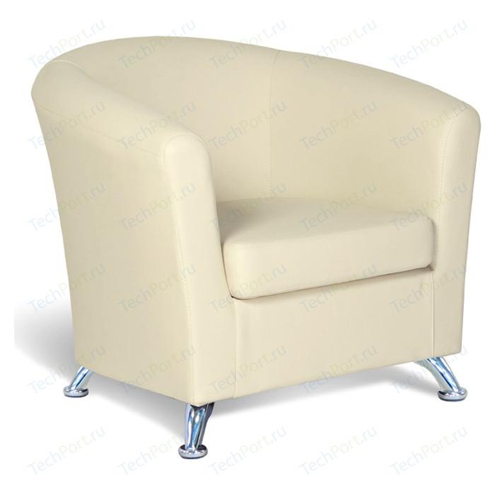 Кресло Шарм-Дизайн Евро экокожа бежевый