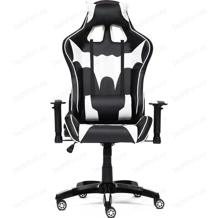 Кресло TetChair iBat кож/зам, черный/белый