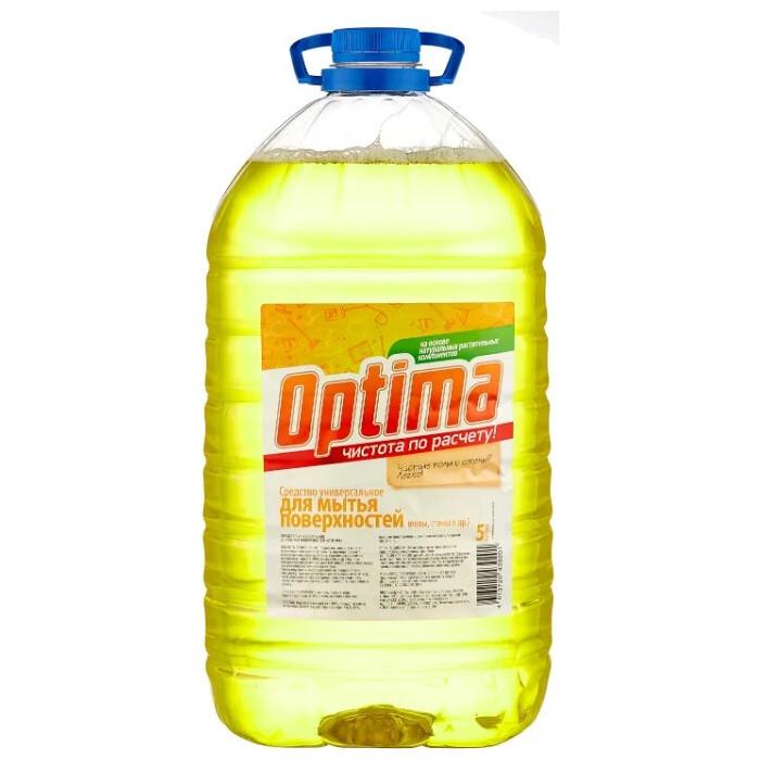 Средство Synergetic для мытья поверхностей OPTIMA, 5 л