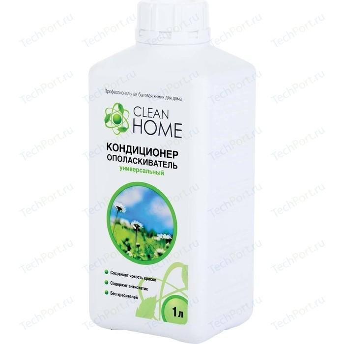 Кондиционер CLEAN HOME ополаскиватель для белья с ароматом альпийских лугов, 1л кондиционер д белья dosia альпийска свежесть 1л