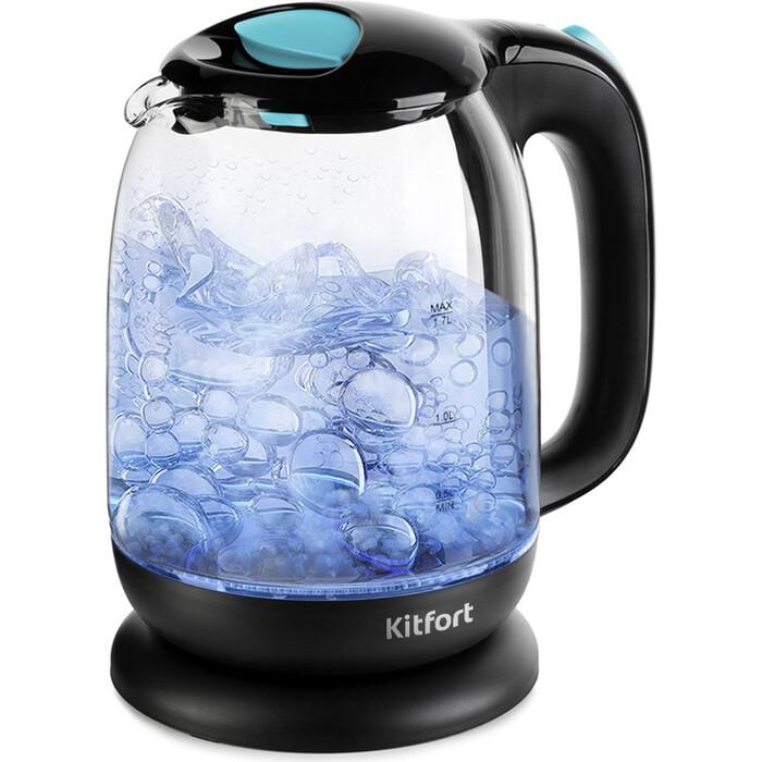 Чайник электрический KITFORT KT-625-1 чайник kitfort kt 625 2 green