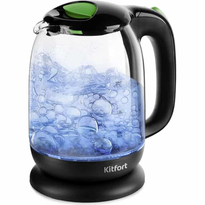 Чайник электрический KITFORT KT-625-2 чайник kitfort kt 625 2 green