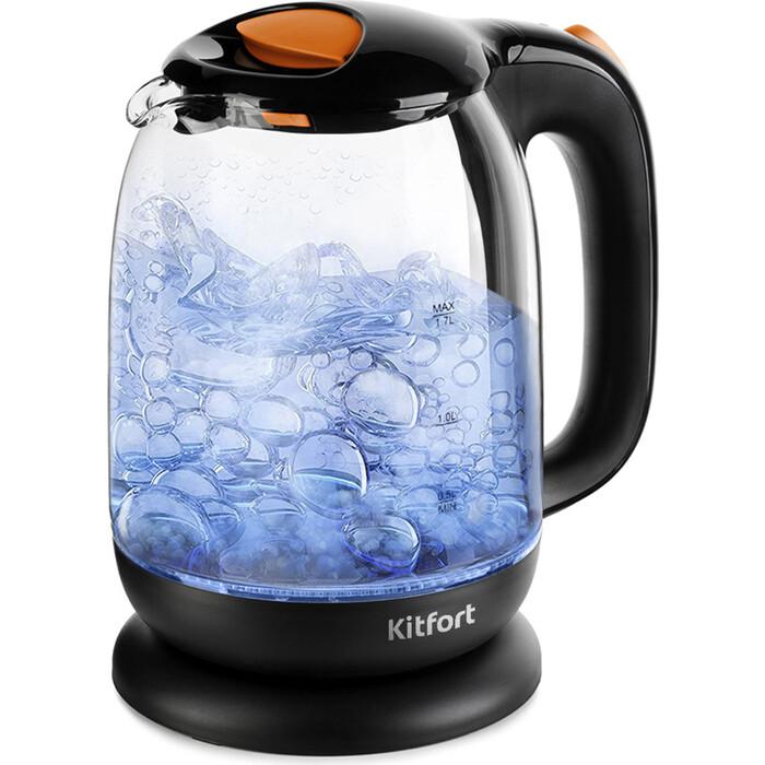 Чайник электрический KITFORT KT-625-3 чайник kitfort kt 625 2 green