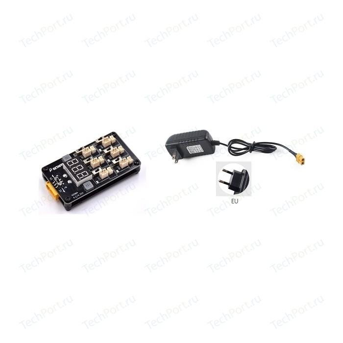 Зарядное устройство BETAFPV 6 АКБ 1S и адаптер питания BETA-0009 адаптер питания ippon e40 40вт черный