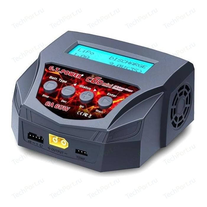Зарядное устройство G.T.Power C6D mini 6A 60W - GTP-C6-MINI