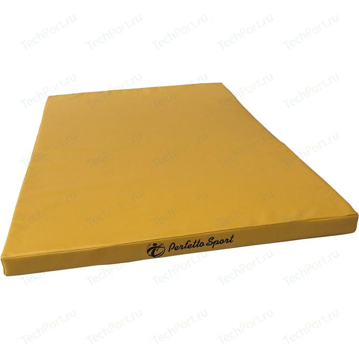Мат PERFETTO SPORT № 13 (120 х 120 5) желтый