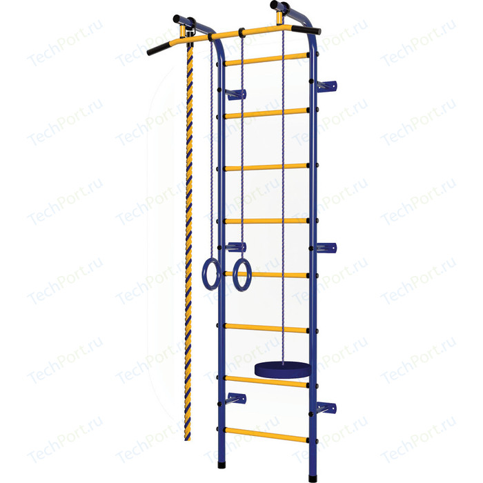 Детский спортивный комплекс Пионер С1РМ сине/желтый